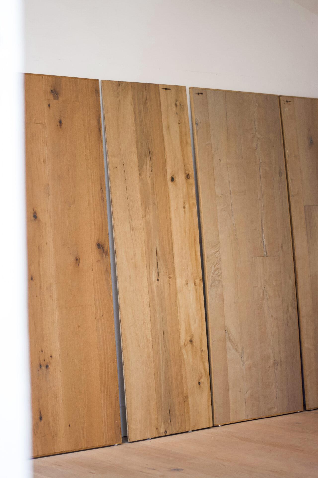 Robuuste houten vloer