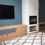 TV meubel op maat met kastjes