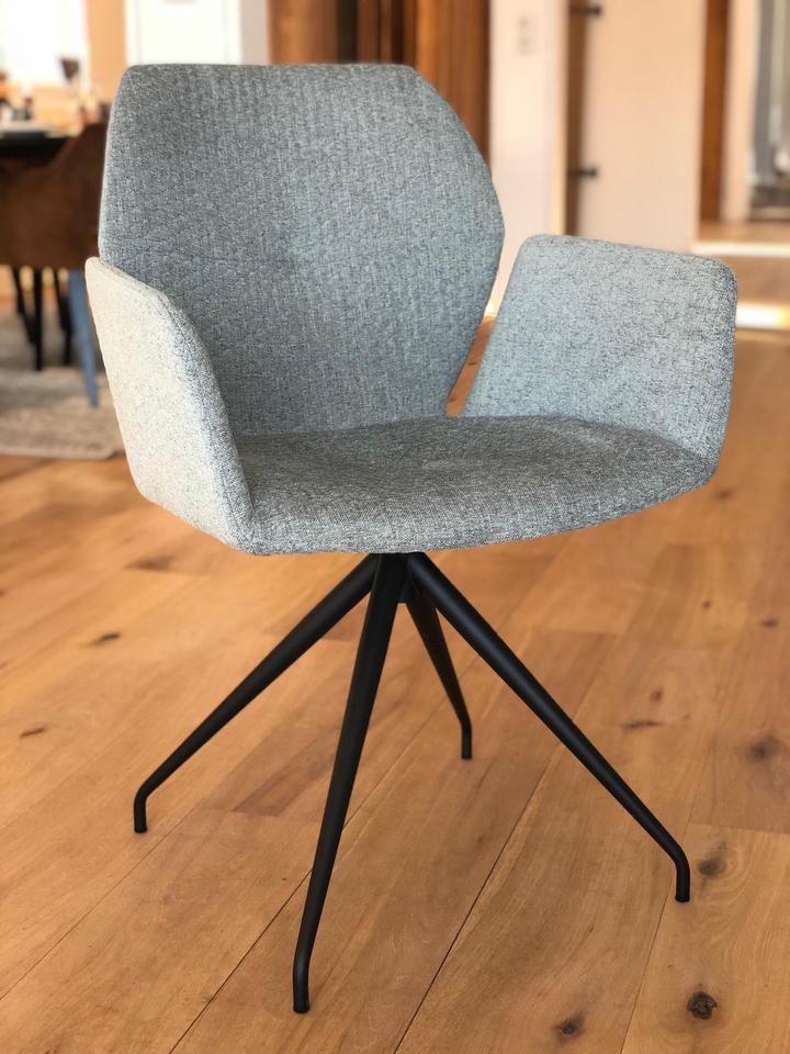 moods stoel grijs