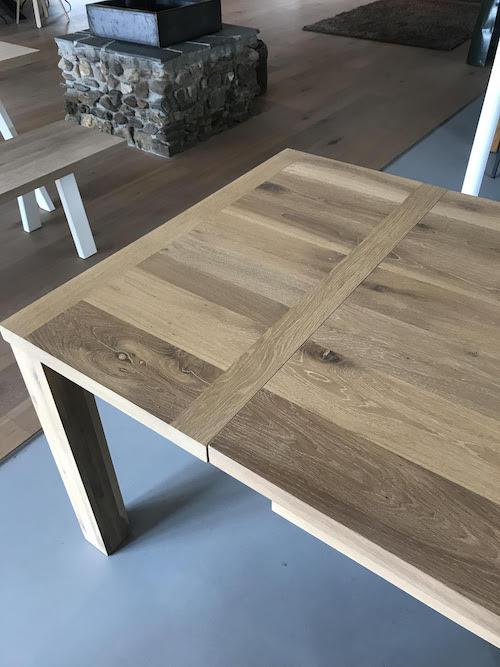 Uitschuifbare Houten Eettafel.Uitschuifbare Eettafels Op Maat Snel Extra Zitplaatsen