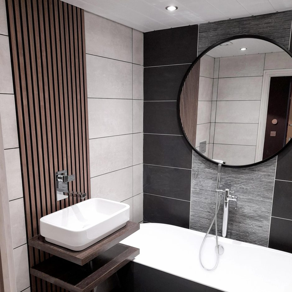 wandpaneel badkamer