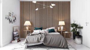 akoestisch paneel slaapkamer warm