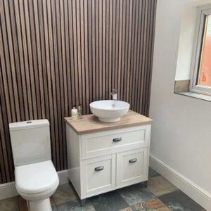 wandpaneel toilet