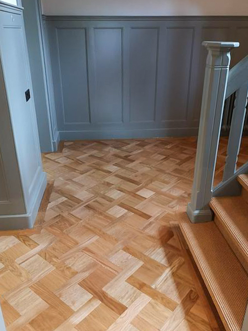 patroon houten vloer houtfabriek