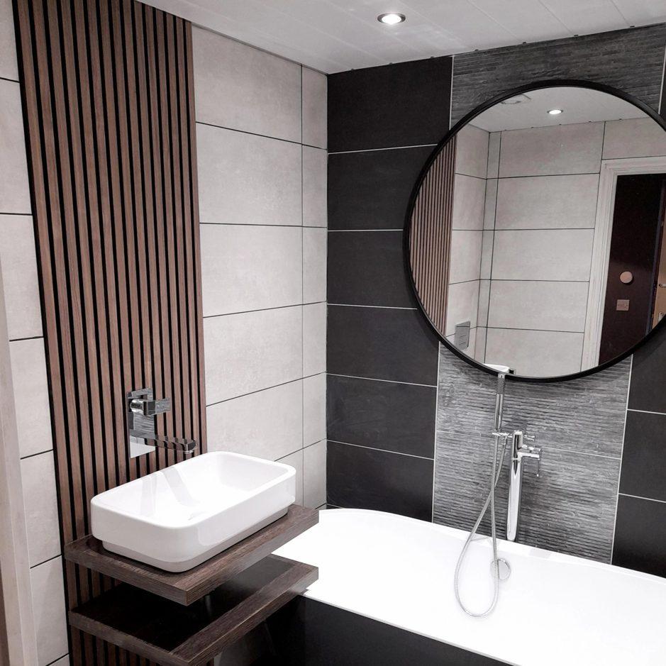 wandpanelen badkamer
