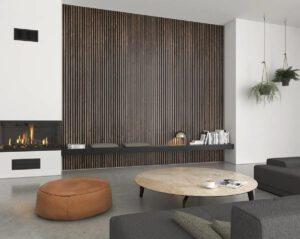 akoestische wandpanelen woonkamer